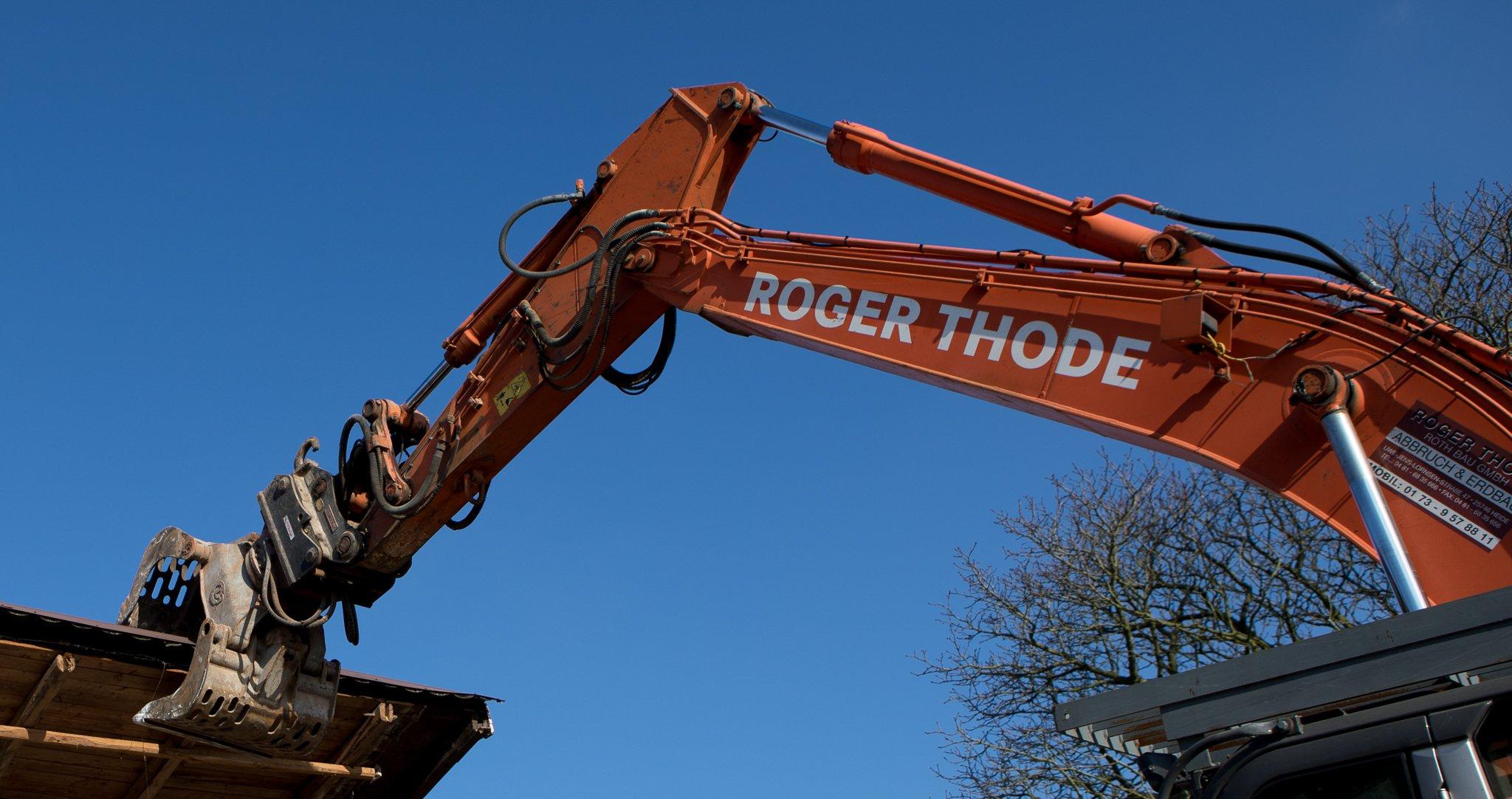 Roth GmbH Roger Thode Heide Abriss und Rückbau
