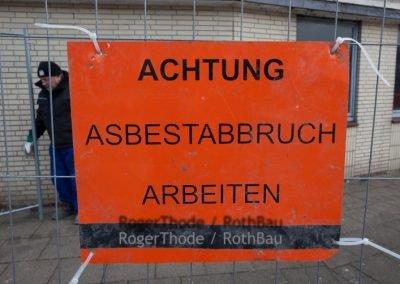 Abriss Möbelhaus Petersen in Heide Dithmarschen
