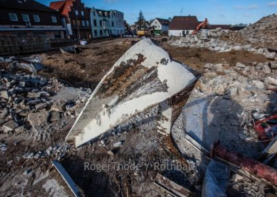 Roger Thode Heide Abriss und Rückbau